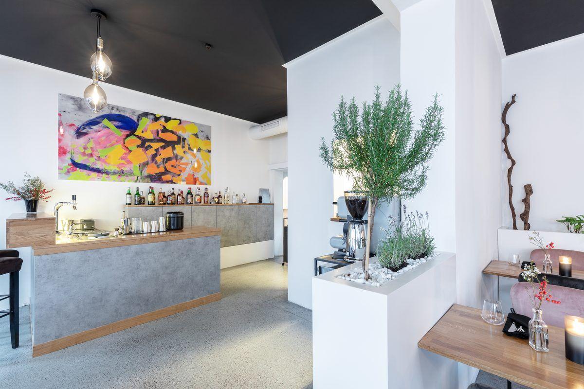 Grist & Grain - Cocktail, Coffee, Food in München - Ansicht Bar